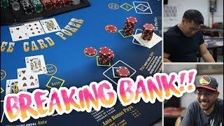 WINNING IN Three Card Poker   Three Card Poker Live Play