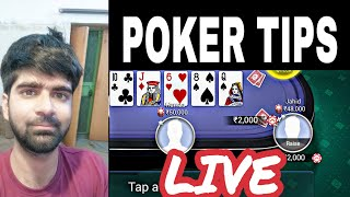TEEN PATTI GOLD | POKER TIPS AND TRICKS LIVE!
