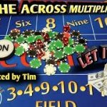 Craps Strategy – The Across Multiplier – HIGH RISK HIGH REWARD to win at craps!