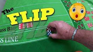 Trying the Flip Toss – Craps Dice Technique