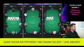 📲 SESSÃO NO PPPOKER DE CASH GAME TEXAS HOLDEM