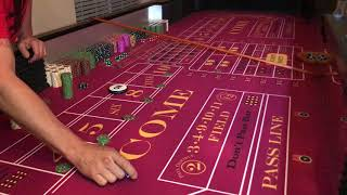 Craps Betting Strategy $1000.00 buy in (Day 4)