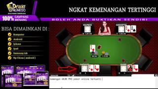 Trik dan Tips Main Poker Online Paling Ampuh Se Indonesia!!!