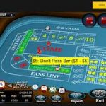 Craps Don't Pass Line Betting (Winning $49.75 In Under 5 Minutes)