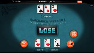 """Real Money Blackjack? – Blackjack RNG – See The Difference When It's """"Fair Play"""" – Watch To The End!"""