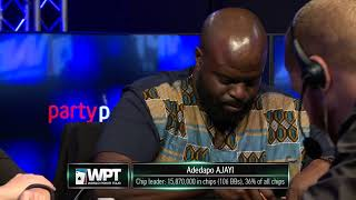 WPT Montreal 2019 Main Event Final Table live stream
