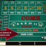 Craps dice game – Microgaming Casino games