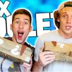 Mob of the Dead: BOX ROULETTE CHALLENGE w/ LonelyMailbox!! (Black Ops 2 Zombies)