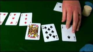 Crazy Pineapple: Variation on Texas Holdem : See How a Hand of Crazy Pineapple Poker will Play Out