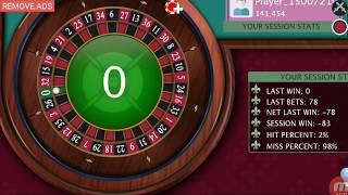 Roulette wining now start ,possible✔✔✔now every time you win.best winning tips