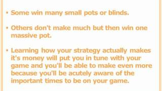 The 3 Biggest Texas Holdem Strategy Secrets Of All Time