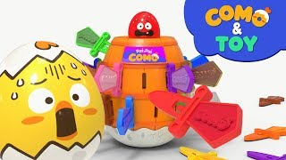 Como | Roulette Game | Learn colors and words | Cartoon video for kids | Como Kids TV