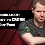 #1 Tournament Poker Strategy to Crush Non-Pros – A Little Coffee with Jonathan Little, 10/25/2019