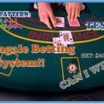 Blackjack – Martingale Betting Strategy. Is it profitable!? I won $400 in one shoe.