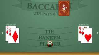 =##= 1-3-2-4 Baccarat Betting System: Tribute To Lisa W. + Major Props ($500 Session Roll) $100 HR?