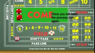 """Make $35 An Hour PLAYING CRAPS!! – """"Craps Strategy"""""""