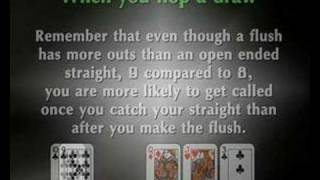 Texas Holdem tournament situations