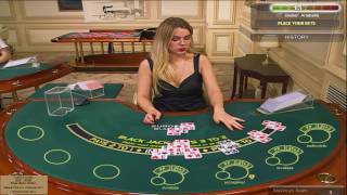 Live Blackjack Casino At Bet365 With Sexy Dealer, Big Win, Card Counting Strategy & High Stakes #3