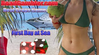 Real craps game: First Sea Day, Royal Carribean Navigator of the Seas