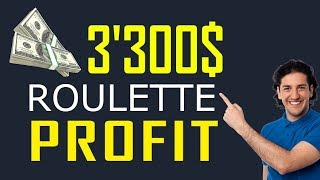 The Best Roulette Strategy Ever Explained! $3'300.– profit in 6 minutes