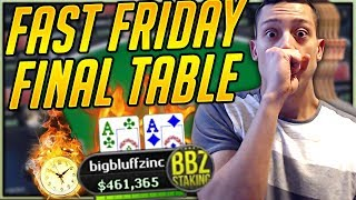 Winning $17,000 In 2.5 HOURS?! ($1050 Fast Friday Poker Highlights)