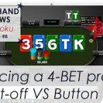 Pocket Tens facing a 4-BET preflop CO vs BTN – Poker Hand Reviews #8
