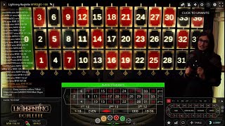 Roulette Strategy 2019 Live Casino (Video 6)
