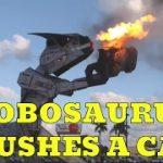 Robosaurus at Seminole Casino in Hollywood, Florida