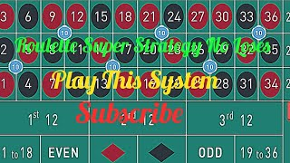Roulette Easy Corner bet Strategy  | Roulette best tips aver | Roulette Strategy to easy win