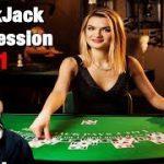 Live Blackjack Session #1