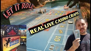 Real Live Casino Craps – From Bronco Billy's Hotel and Casino – Cripple Creek Colorado!