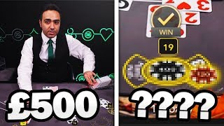 I Went To A Online Blackjack Table With £500 And Left With…?