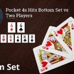Poker Strategy: Pocket 4s Hits Bottom Set vs Two Players