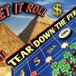 Craps Strategy – Tear Down the Pyramid- Great strategy to try to win at craps!