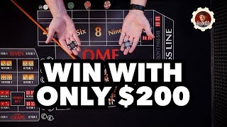 How to Win at Craps with a Little More Money – craps betting strategy