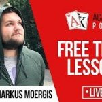 Free trial lesson of the Academy of Poker coach – Markus Moergis