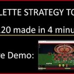 Roulette Strategy to Win – £120 in 4 minutes