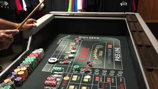 Craps Hawaii — $130 Inside Strategy (Session1of 3) Getting Aggressive