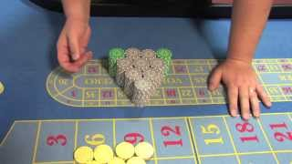 National Gaming Academy: American Roulette Video Tutorials # 5  Stack Pushing and Paying Customers