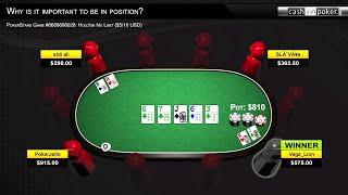 Playing Poker in Position – Why is it Important to Be in Position Part 1
