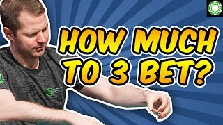 When and How Much to 3-Bet from Out of Position – Poker Strategy You Need to Know