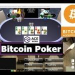 Playing Ace Wins Poker! Proof Real Fair Texas Hold'em! Ace Bitcoin BTC Dividends
