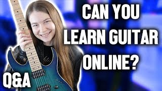 Can You Learn Guitar Online? & Other Questions (Question Roulette #2)