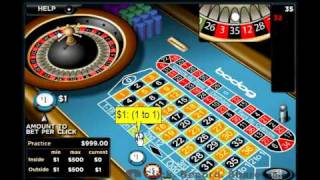 How To Win At Roulette Strategy 1: The Martingale (Low Limit) Betting System