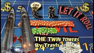 Craps Strategy – The Twin Towers- Great strategy to try to win at craps!