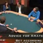 FULL TILT POKER LEARN FROM THE PROS:The art of the bet
