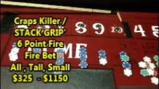 Craps Killer | How to STACK | 6 Points Fire  Bet| Tall | small | All | They HATE THIS