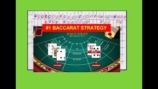 """""""Baccarat Strategy""""  Winning since 2015"""