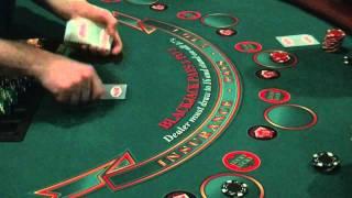 Hand gestures in hand-held blackjack