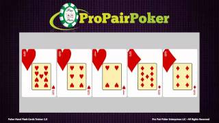 Poker Hand Rankings Trainer